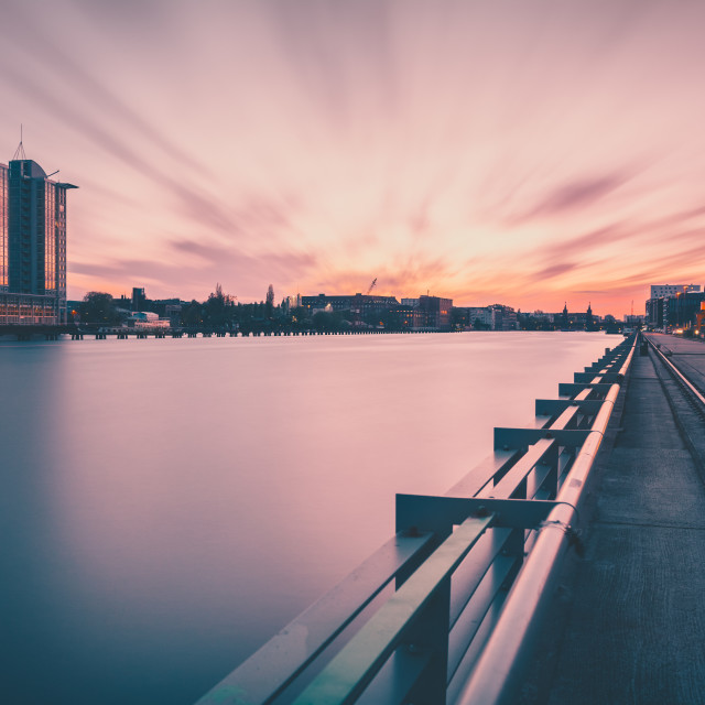 """Berlin Skyline II"" stock image"