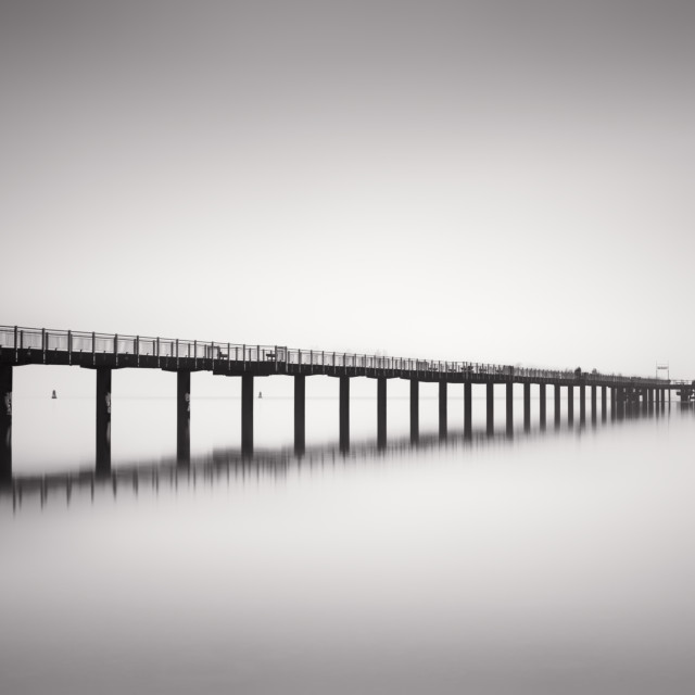"""Ghost Pier II"" stock image"