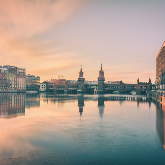 """Oberbaumbridge Berlin II"" stock image"