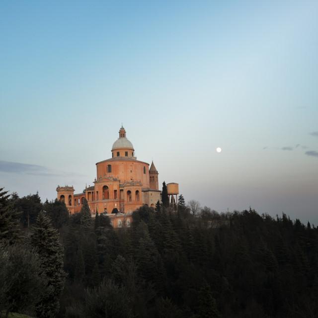 """Bologna - San Luca"" stock image"