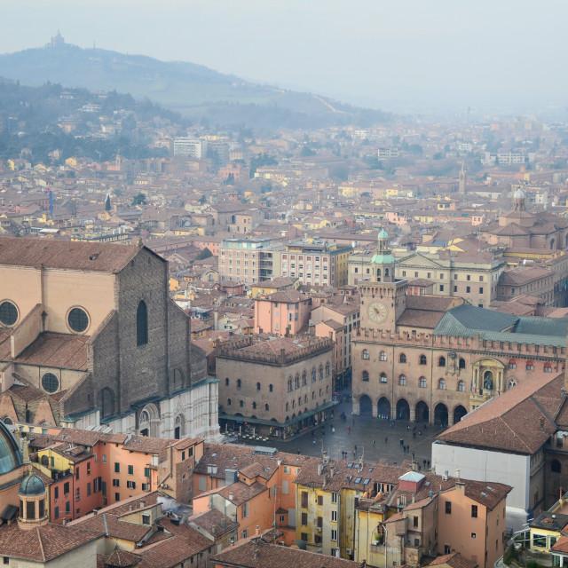 """""""Bologna - Panorama"""" stock image"""