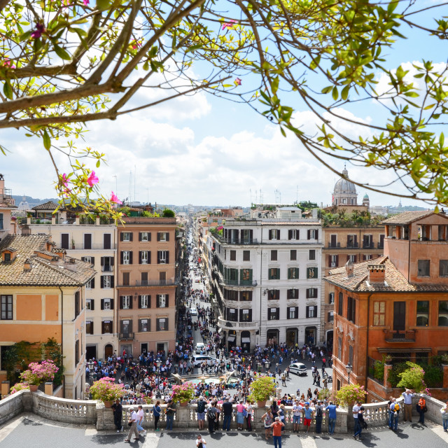 """Rome - Spanish Steps"" stock image"