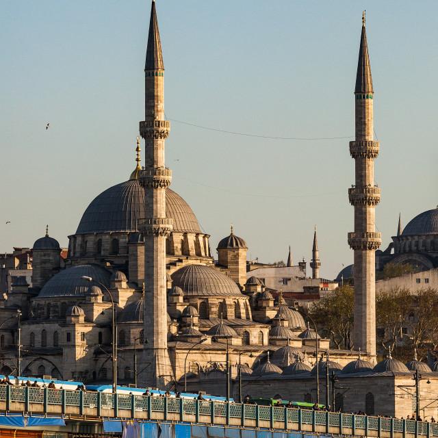 """Galata Bridge Istanbul"" stock image"