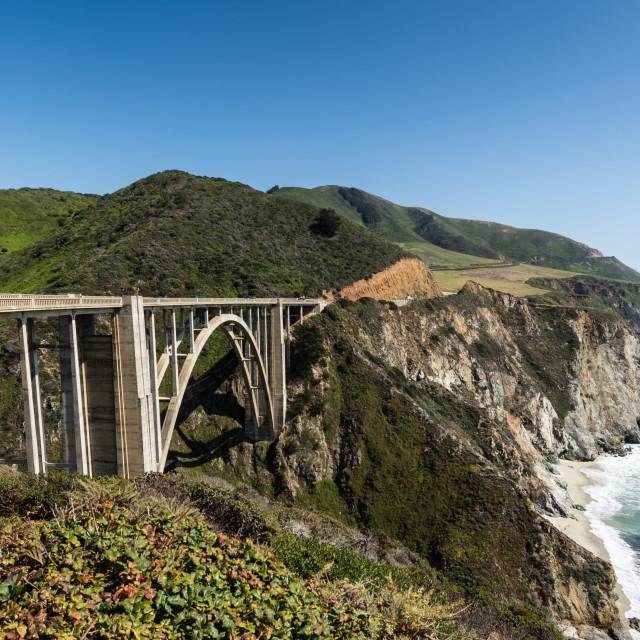 """""""Bixby Bridge"""" stock image"""