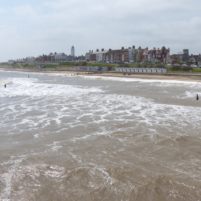 """Southwold, Suffolk"" stock image"