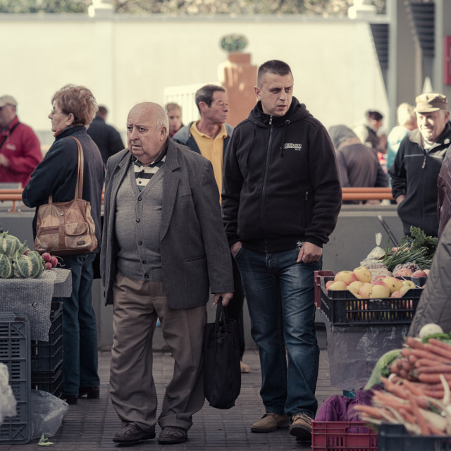 """Market Day"" stock image"