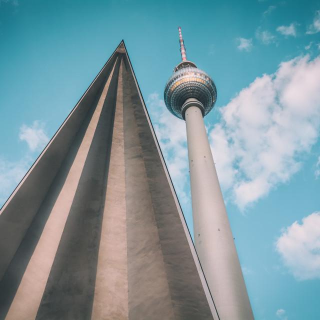 """Fernsehturm Berlin II"" stock image"