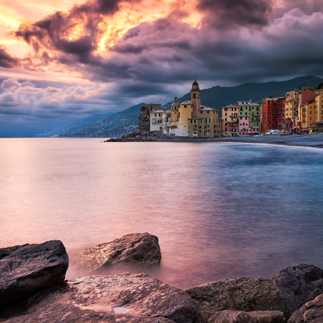 """Only Camogli ..."" stock image"