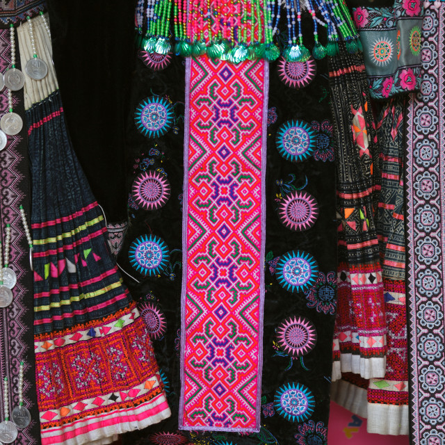 """""""Hmong traditional clothes"""" stock image"""