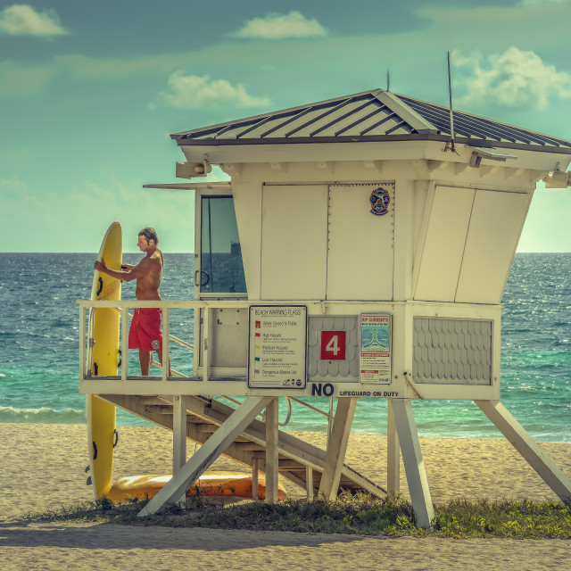 """lifeguard"" stock image"