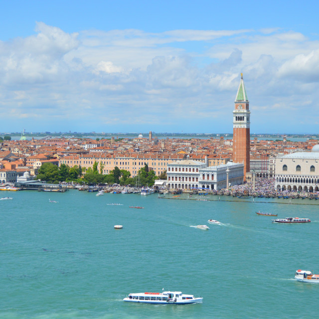 """""""View of Venice"""" stock image"""