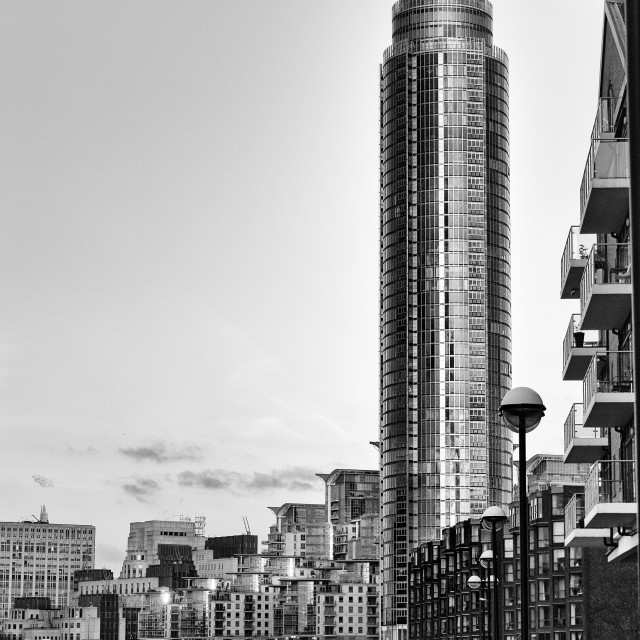 """The Tower at Nine Elms London"" stock image"