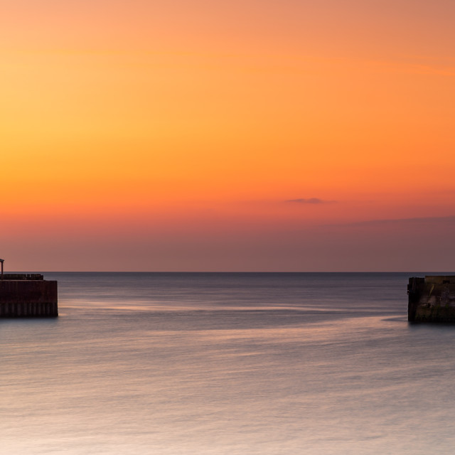 """Tangerine Pier Head Dawn"" stock image"