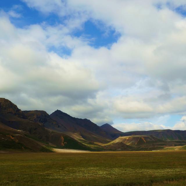 """""""Icelandic Landscape"""" stock image"""