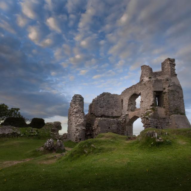 """Pennard castle Swansea"" stock image"
