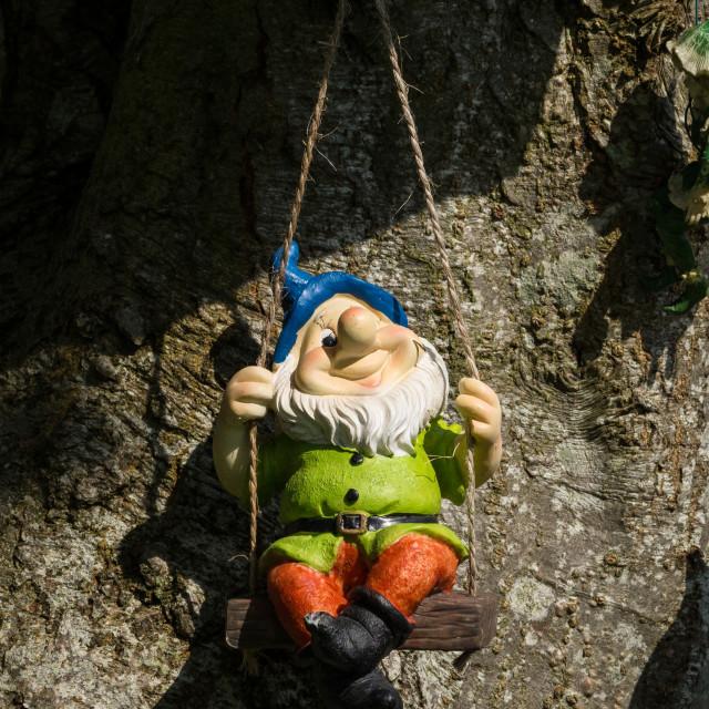 """Happy Gnome"" stock image"