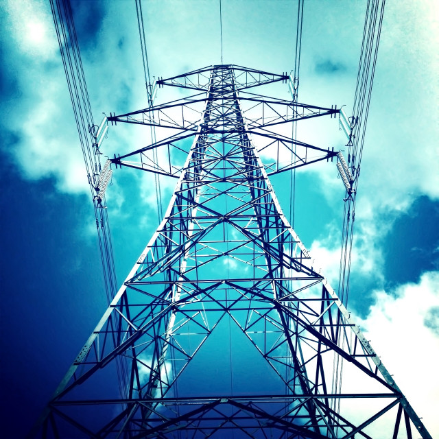 """Pylon"" stock image"