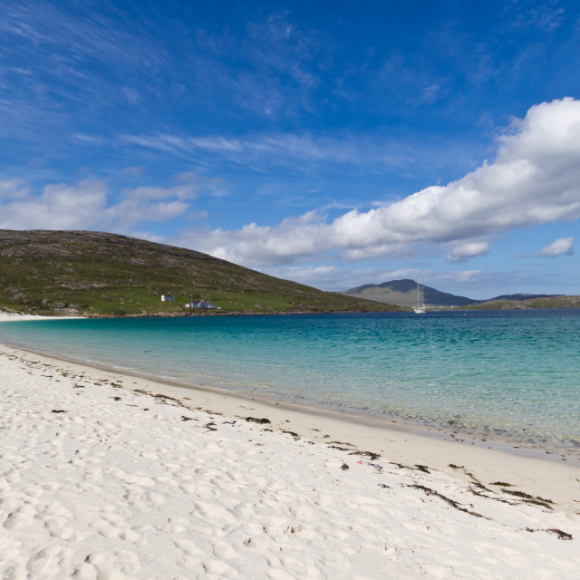 """Vatersay beach"" stock image"