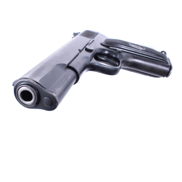 """""""9mm weapon"""" stock image"""