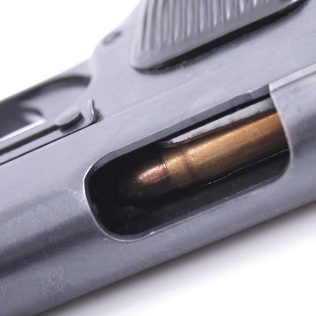 """""""detail of gun"""" stock image"""