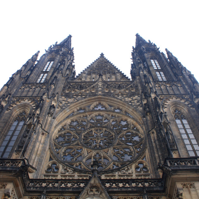 """Saint Vitus cathedral"" stock image"
