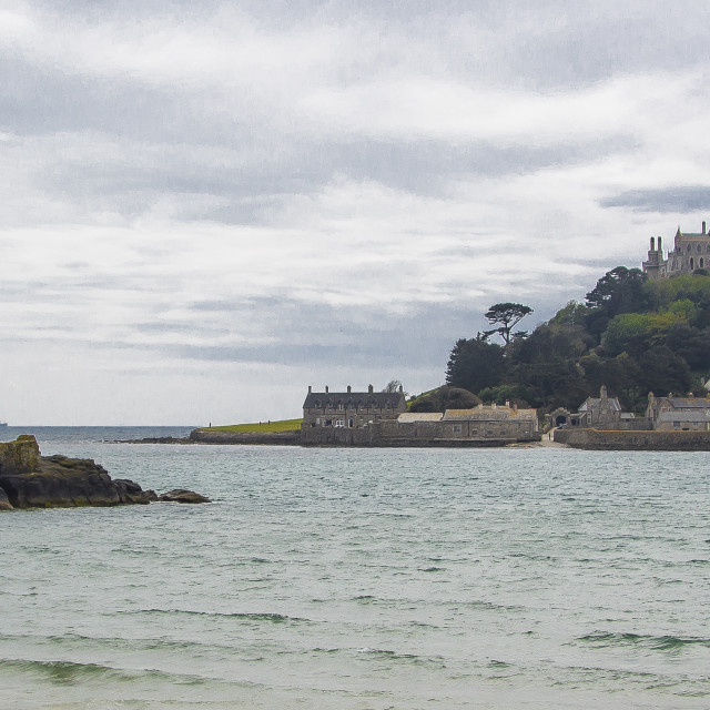 """St Michael's Mount"" stock image"