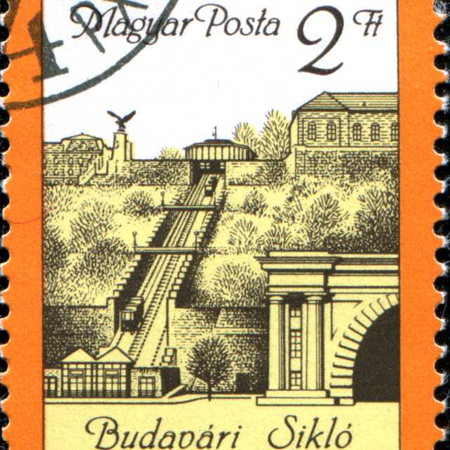 """Budapest Funicular - Budavari Siklo"" stock image"