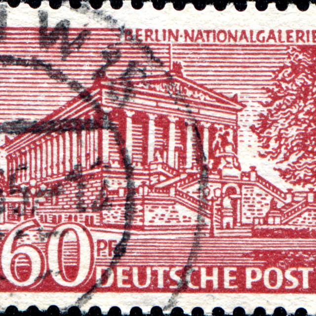 """Natinal Galerie, Berlin"" stock image"