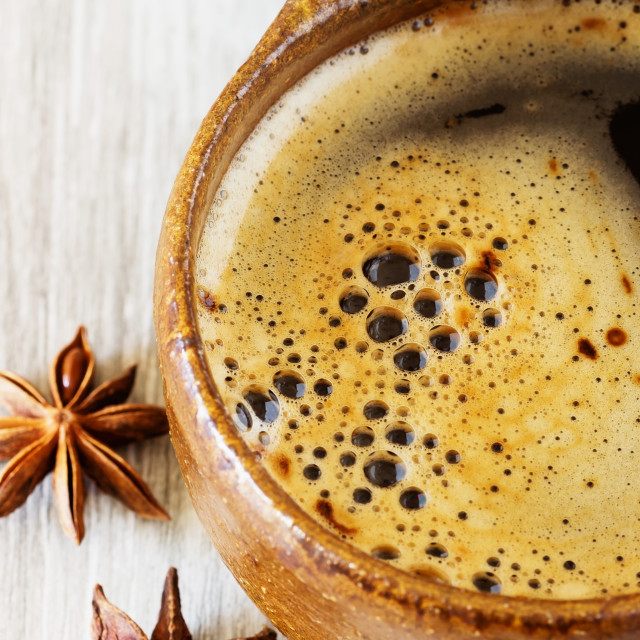 """Fresh morning coffee"" stock image"
