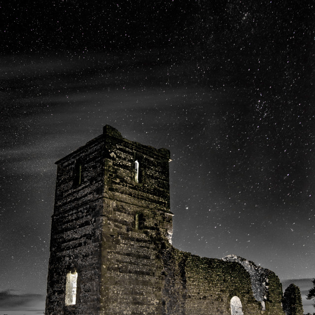 """Knowlton Church Dorset"" stock image"