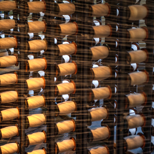 """Cotton bobbins"" stock image"