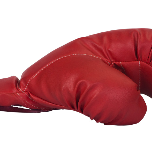 """""""Close-up of a boxing glove"""" stock image"""