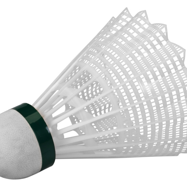 """Close-up of a shuttlecock"" stock image"