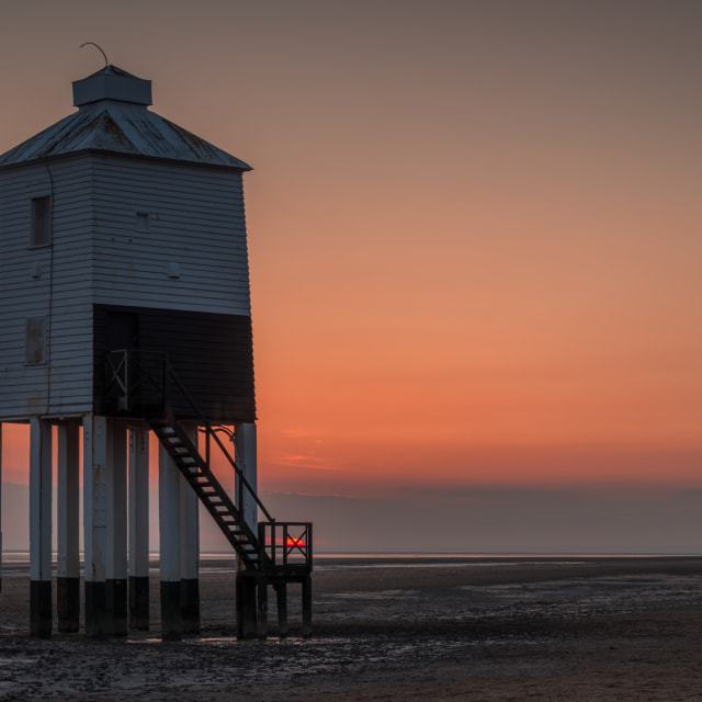 """The Burnham-On -Sea Lighthouse, Somerset"" stock image"