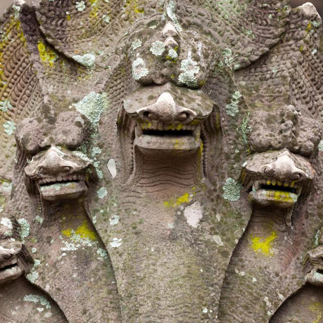 """mystical huinduism statue"" stock image"