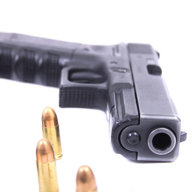 """""""hand gun"""" stock image"""