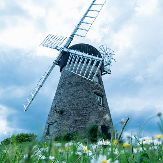 """Whitburn Mill"" stock image"