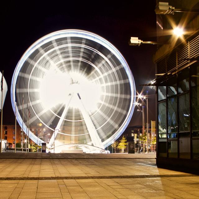 """""""Liverpool's Wheel"""" stock image"""