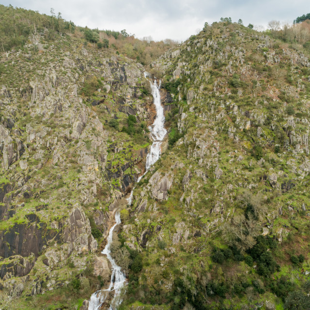 """Waterfall in Arouca"" stock image"