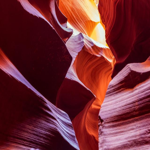 """Antelope Canyon 2"" stock image"