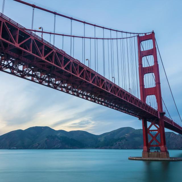 """The Golden Gate Bridge 2"" stock image"