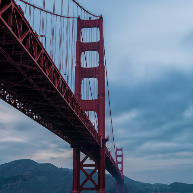 """The Golden Gate Bridge 3"" stock image"