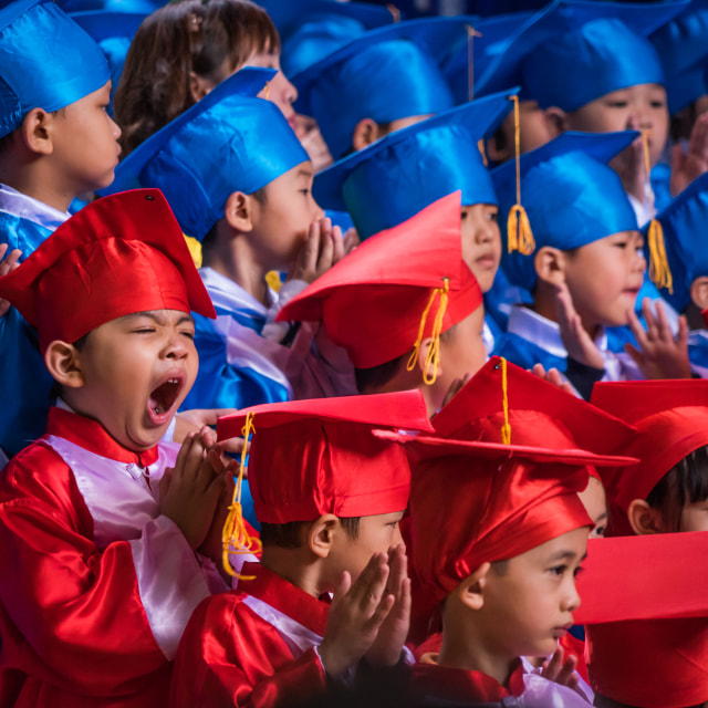 """Graduation day."" stock image"