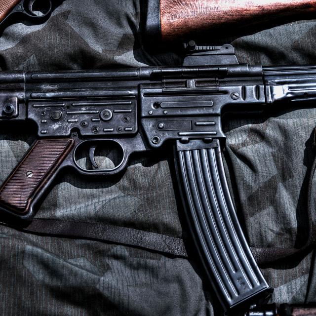 """StG44 assault rifle"" stock image"