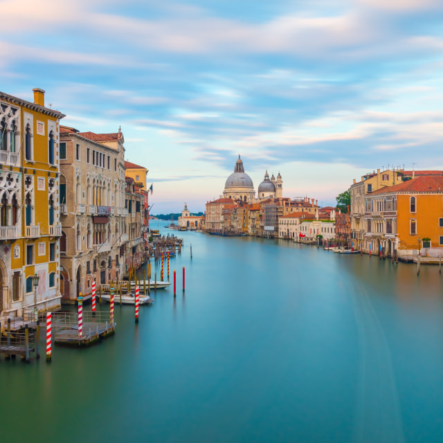 """Venice, Canal Grande, Italy"" stock image"