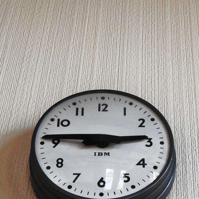 """Art Deco Clock"" stock image"