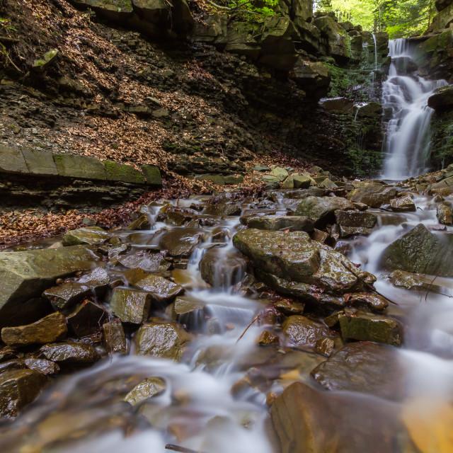 """""""Waterfall Mosorczyk"""" stock image"""