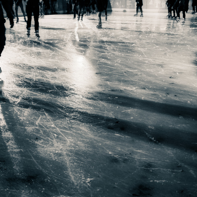"""Ice Skating"" stock image"