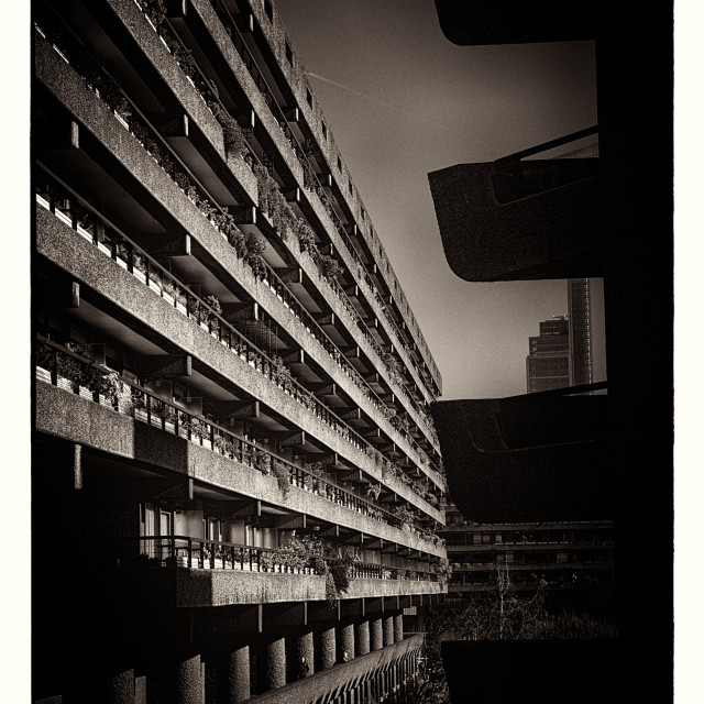 """Barbican Peek"" stock image"