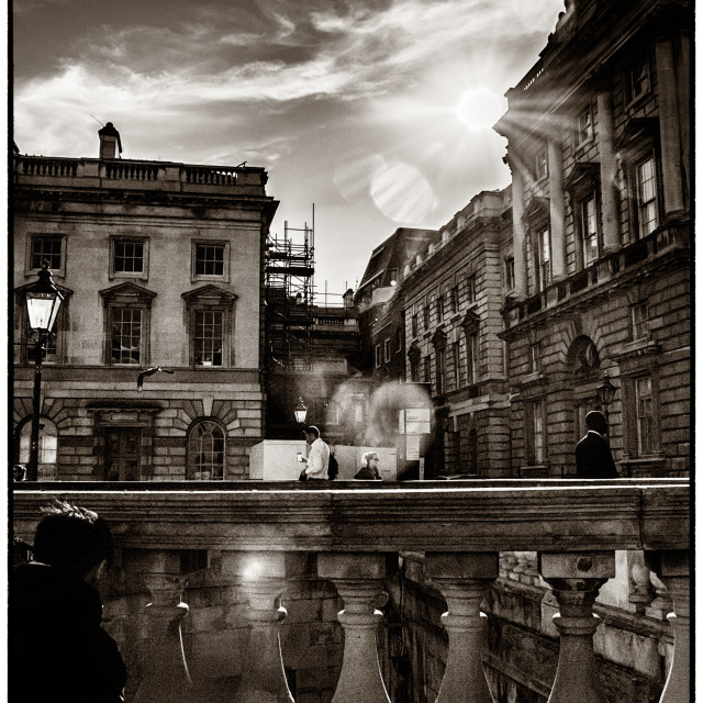 """""""Flair at Somerset House"""" stock image"""